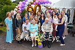 Mary Daly seated front centre from Cahersiveen celebrated her 90th birthday with family and close friends on Saturday evening.