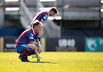 Inverness Caley v St Johnstone…08.04.17     SPFL    Tulloch Stadium<br />A gutted Carl Tremarco at full time<br />Picture by Graeme Hart.<br />Copyright Perthshire Picture Agency<br />Tel: 01738 623350  Mobile: 07990 594431