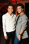 Nicholas Nguyen and Matthew Esposito at the third night of Fashion Houston at the Wortham Theater Wednesday Oct. 12,2011.(Dave Rossman/For the Chronicle)