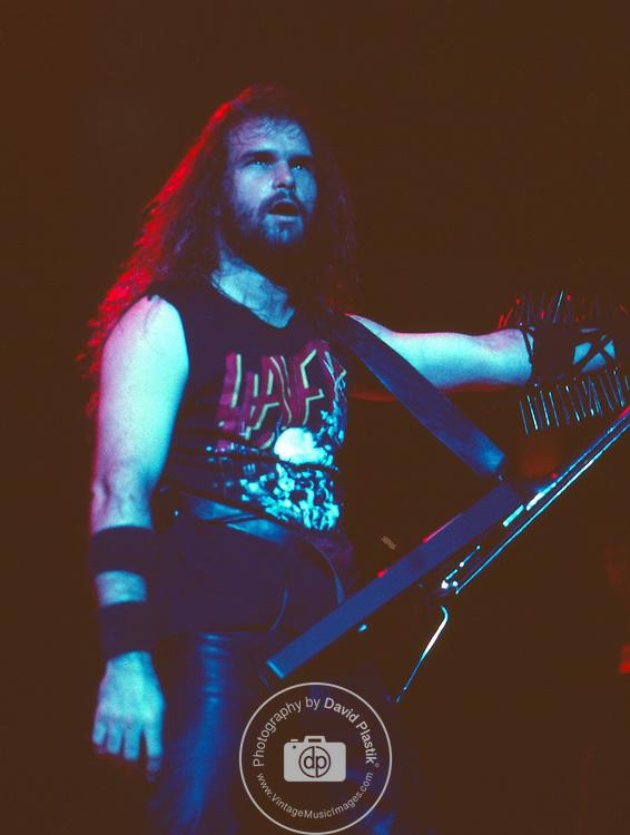 Slayer, Kerry King, Photo By David Plastik/IconicPix 1988 Los Angeles
