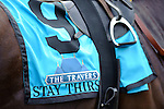 Stay Thirsty Ridden by Javier Castellano Winner of the 142nd Travers Stakes (Grade I)   at  Saratoga Race Course in Saratoga Springs, NY  on 8/27/11. (Ryan Lasek / Eclipse Sportwire)