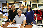 Roberto Production Manager for over 45 years with family Patrizia and Alex and Anna Colombo Santini Factory, Lallio, Italy. 30th September 2015.<br /> Picture: Eoin Clarke | Newsfile