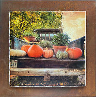 Farm to Market - Mixed Media - Texas - Chevy <br />