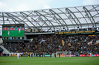 LOS ANGELES, CA - MARCH 01: LAFC v Inter Miami CF at Banc of California Stadium during a game between Inter Miami CF and Los Angeles FC at Banc of California Stadium on March 01, 2020 in Los Angeles, California.