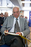 Politic Josep Borrell involved in the presentation of the report on the State of the European Union in Madrid. June 02. 2016. (ALTERPHOTOS/Borja B.Hojas)