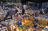 Markt in Houmt Souk, Keramik, Djerba, Tunesien