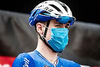 Fabio Jakobsen (NED/Deceuninck - Quick Step) at the race start<br /> <br /> Heylen Vastgoed Heistse Pijl 2021 (BEL)<br /> One day race from Vosselaar to Heist-op-den-Berg (BEL/193km)<br /> <br /> ©kramon