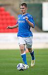 St Johnstone v Ross County....SPFL Development League...19.08.14<br /> Jason Kerr<br /> Picture by Graeme Hart.<br /> Copyright Perthshire Picture Agency<br /> Tel: 01738 623350  Mobile: 07990 594431