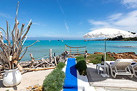 BNPS.co.uk (01202 558833)<br /> Pic: CapVillas/BNPS<br /> <br /> The property has its own private beach<br /> <br /> A glamorous villa that has hosted a string of celebrities including Winston Churchill, Pablo Picasso, the Duke of Windsor and Edith Piaf is on the market for £9m (10.5m euros).<br /> <br /> The exquisite Villa La Garoupe Beach sits on a natural sand beach and has its own private beach on one of the French Riviera's most exclusive spots.<br /> <br /> It was once a renowned beach club and the list of names connected to the property are endless. French singer Edith Piaf hosted her engagement party to Theo Sarapo there and it was also visited by former US President Harry Truman, writer Ernest Hemingway, Bond actor Sean Connery and movie star Marlene Dietrich.<br /> <br /> The property in Cap d'Antibes has four bedrooms suitable for six to eight people, three bathrooms and a living area overlooking the sea.