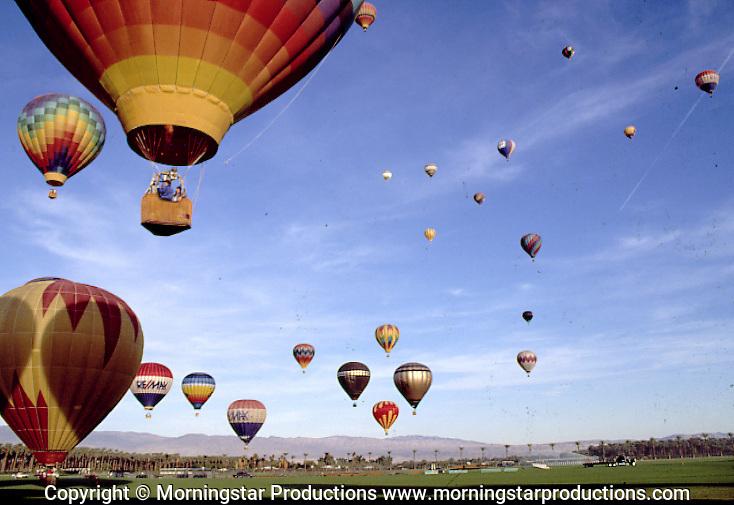 Stock - Hot Air Balloons
