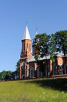 Kirche in Skirsnemune, Litauen, Europa