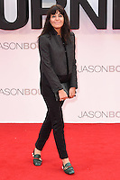 """Claudia Winkleman<br /> arrives for the """"Jason Bourne"""" premiere at the Odeon Leicester Square, London.<br /> <br /> <br /> ©Ash Knotek  D3139  11/07/2016"""