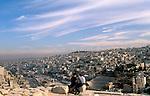 Jordan, a view of Amman as seen from the Citadel Hill&#xA;<br />