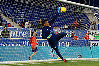 HARRISON, NJ - MARCH 08: Adrianna Franch #21 of the United States during a game between Spain and USWNT at Red Bull Arena on March 08, 2020 in Harrison, New Jersey.