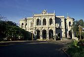 Belo Horizonte, Brazil. Classical colonial Palacio da Liberdade, (Liberty Palace), the seat of Government.