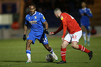 Callum Harriott of Colchester United during Colchester United vs Swindon Town, Sky Bet EFL League 2 Football at the JobServe Community Stadium on 28th January 2020