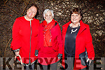 Alice Sheridan, Mary McKeon and Phyllis Blacklaw enjoying the evening in Cassidys on Saturday.