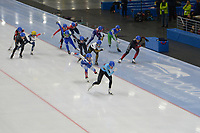SPEEDSKATING: 23-11-2019 Tomaszów Mazowiecki (POL), ISU World Cup Arena Lodowa, Mass Start Semi-Final Men, ©photo Martin de Jong