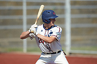 Ryan Parquette (29) (Campbell) of the High Point-Thomasville HiToms at bat against the Old North State League West All-Stars at Hooker Field on July 11, 2020 in Martinsville, VA. The HiToms defeated the Old North State League West All-Stars 12-10. (Brian Westerholt/Four Seam Images)