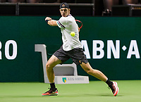 Rotterdam, The Netherlands, 13 Februari 2019, ABNAMRO World Tennis Tournament, Ahoy, Denis Shapovalov (CAN),<br /> Photo: www.tennisimages.com/Henk Koster