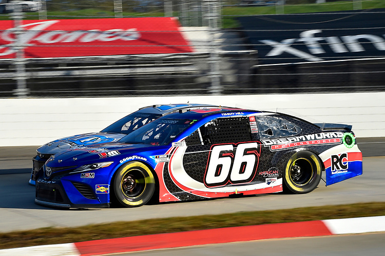 #66: Timmy Hill, Motorsports Business Management, Toyota Camry ROOFCLAIM.COM