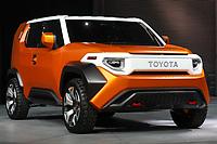 NEW YORK, EUA, 12.04.2017 - AUTOMÓVEL-NEW YORK - Toyota FT-DX Concept  é visto durante o New York Internacional Auto Show no Javits Center na cidade de New York nesta quarta-feira, 12. O evento é aberto ao público do dia 14 à 23 de abril de 2017  . (Foto: Vanessa Carvalho/Brazil Photo Press)
