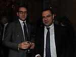 FEDERICO VINCENZONI E PAOLO MESSA<br /> PREMIO GUIDO CARLI - QUARTA EDIZIONE<br /> RICEVIMENTO HOTEL MAJESTIC ROMA 2013