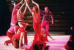 """Marco Berrettini dans """"Sorry do the tour"""" au théâtre de la Ville de Paris Sorry, do the tour !<br /> <br /> Création en mai 2001 : Kampnagel Internationale Kulturfabrik GmbH (Hambourg)<br /> <br /> Direction artistique : Marco Berrettini<br /> Danse : Marco Berrettini<br /> Jean-Paul Bourel<br /> Valérie Brau-Antony<br /> Gaëtan Bulourde<br /> Manuel Coursin<br /> Bruno Faucher<br /> Chiara Gallerani<br /> Maguelonne Marre<br /> Gianfranco Poddighe<br /> Anja Röttgerkamp<br /> Scénographie : Bruno Faucher<br /> Lumières : Bruno Faucher<br /> Musique originale : Manuel Coursin<br /> Production *Melk Prod. (Genève)<br /> Le 10/03/2003<br /> Lieu : Théâtre des Abbesses<br /> Ville : Paris"""