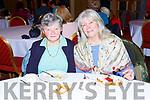 MAry Johnson and Stephanie Thompson enjoying the Killarney Soroptimists pancake morning in the Killarney Avenue Hotel on Tuesday