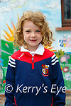 Ballincrossig NS:Lucey Brosnan on her firzt day at schoo; at Ballincrosig NS  and in Ashley O'Connor's Class.