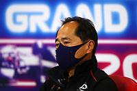 27th August 2021; Spa Francorchamps, Stavelot, Belgium: FIA F1 Grand Prix of Belgium, free practise:  F1 Grand Prix of Belgium Toyoharu Tanabe JPN, Technical Director of Honda Racing F1 at press conference