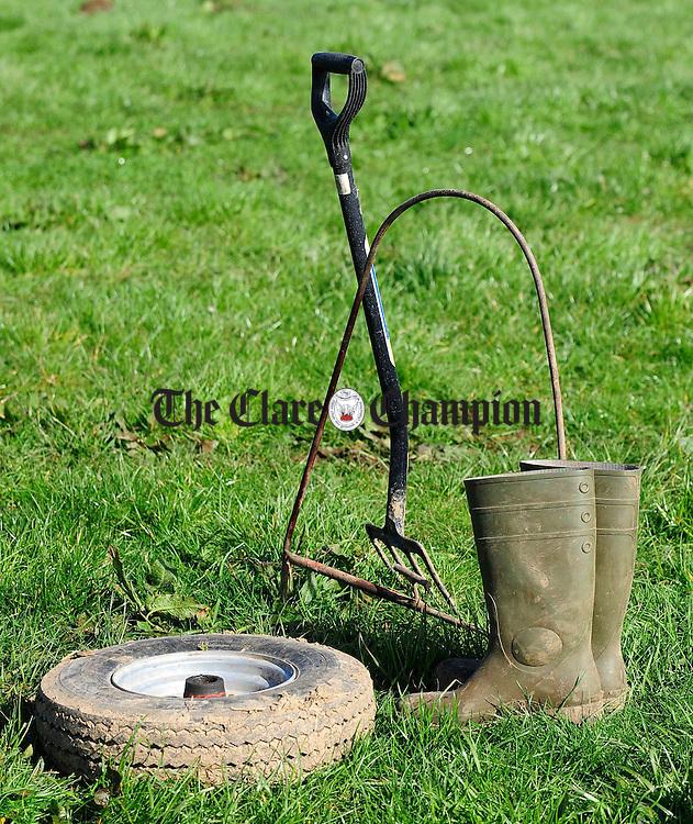 Ploughing match at O'Callaghans Mills.pic Arthur Ellis.