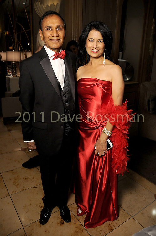 Dr. Suresh Khator and his wife Renu Khator at the 20th San Luis Salute Friday Feb. 05, 2016.(Dave Rossman photo)