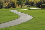 Pathway at Vail Golf Course, Vail Colorado, USA.
