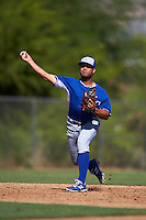 Kansas City Royals Gabriel Cancel (14) during an instructional league game against the San Francisco Giants on October 23, 2015 at the Papago Baseball Facility in Phoenix, Arizona.  (Mike Janes/Four Seam Images)