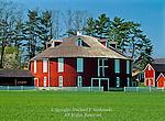 Neff Round Barn, Centre County; Pennsylvania