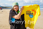 Mary Rose Stafford getting ready for the Darkness into Light fundraising swim, which they are doing next Sunday morning art 5am in Banna.