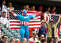 USA Fans. The USMNT defeated Turkey, 2-1, at Lincoln Financial Field in Philadelphia, PA.