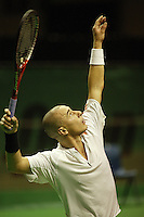 18-2-06, Netherlands, tennis, Rotterdam, ABNAMROWTT, Jean-Rene Lisnard