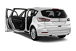 Car images close up view of a 2018 Ford S-Max Vignale Base 5 Door Mini Van doors