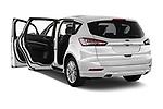 Car images close up view of a 2018 Ford S-Max Vignale Base 5 Door Mini Van doors