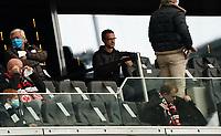 Vorstand Sport Fredi Bobic (Eintracht Frankfurt)<br /> - 03.10.2020: Fussball  Bundesliga, Saison 20/21, Spieltag 3, Eintracht Frankfurt vs. TSG 1899 Hoffenheim, emonline, emspor, v.l. Deutsche Bank Park<br /> Foto: Marc Schueler/Sportpics.de <br /> Nur für journalistische Zwecke. Only for editorial use. (DFL/DFB REGULATIONS PROHIBIT ANY USE OF PHOTOGRAPHS as IMAGE SEQUENCES and/or QUASI-VIDEO)