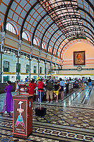 The Saigon Post office in central Saigon, Ho Chi Minh City, Vietnam