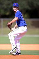 Brad Archer, #2 of Lebanon High School, MO playing for the St. Louis Pirates/Midwest Mets Scout Team during the WWBA World Championship 2013 at the Roger Dean Complex on October 25, 2013 in Jupiter, Florida. (Stacy Jo Grant/Four Seam Images)