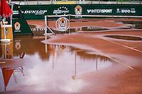 26-08-12, Netherlands, Amstelveen, Tennis, NVK, Water op de baan