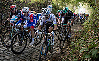 Julian Alaphilippe (FRA/Deceuninck-QuickStep) up the infamous Koppenberg<br /> <br /> 104th Ronde van Vlaanderen 2020 (1.UWT)<br /> 1 day race from Antwerpen to Oudenaarde (BEL/243km) <br /> <br /> ©kramon