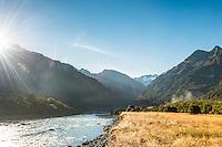 Morning at Copland River, Westland National Park, West Coast, World Heritage Area, South Westland, New Zealand