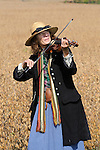 Heritage Days Festival. Union County. Beverly Burgess, fiddler, Lewisburg, PA.