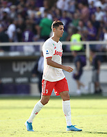 Calcio, Serie A: Fiorentina - Juventus, stadio Artemio Franchi Firenze 14 settembre 2019<br /> Juventus' Cristiano Ronaldo leaves the pitch at the end of the Italian Serie A football match between Fiorentina and Juventus at Florence's Artemio Franchi stadium, September 14, 2019. <br /> UPDATE IMAGES PRESS/Isabella Bonotto