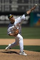 Mark Mulder. Baseball: Chicago White Sox vs Oakland Athletics. Oakland, CA 7/18/2004 MANDATORY CREDIT: Brad Mangin